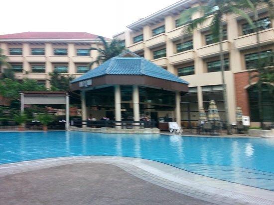 Swissotel Merchant Court Singapore : Pool area