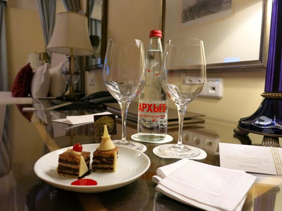 Four Seasons Hotel Lion Palace St. Petersburg: welcome gift