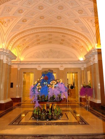 Four Seasons Hotel Lion Palace St. Petersburg: entry