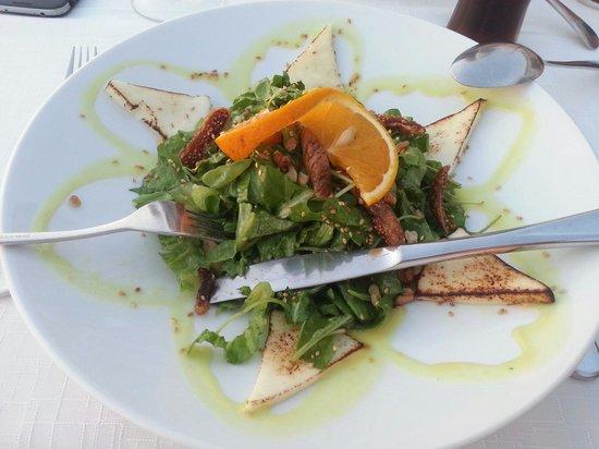 Archipelagos Restaurant: excellente salade
