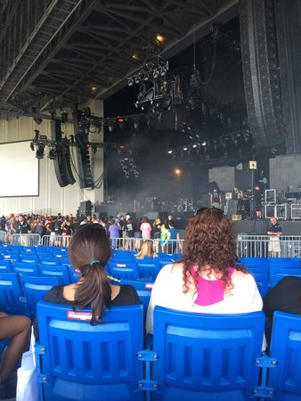 View From Section 1 No Zoom Picture Of Pnc Music