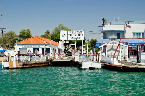 welcome to balboa island picture of balboa island ferry newport