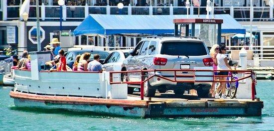 """Balboa Island Ferry : The Balboa Ferry """"ADMIRAL"""""""