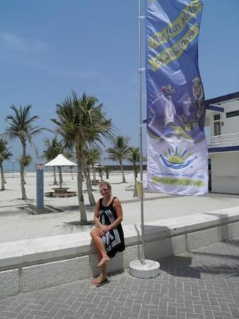 Playa y Parque Jumeira: 20140806 Jumeira Beach Dubai