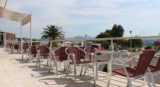 Hotel Azar: Terraza