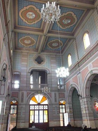 Sao Jose Dos Campos, SP: O interior da igreja