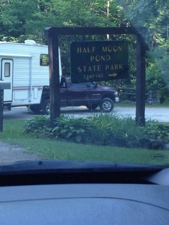 Half Moon State Park : Pulling in for a weekend of camping with the family!!  Woohoo!