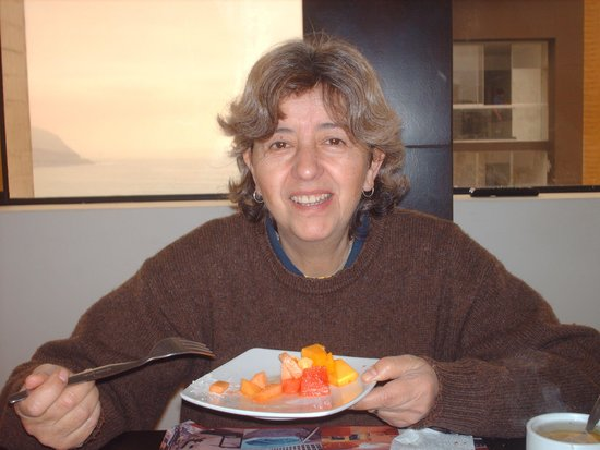 Hotel Ferre Miraflores: Frutita al desayuno