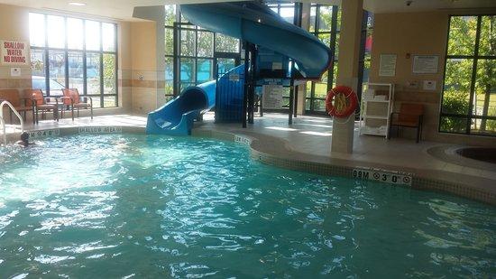 Courtyard by Marriott Kingston Highway 401 / Division Street : Pool Water Slide