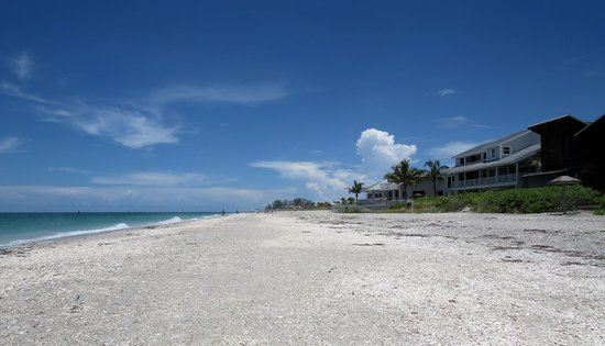 Englewood Beach: view of the beach