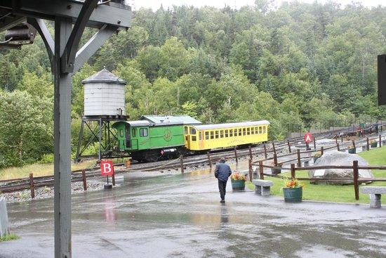 The Mount Washington Cog Railway : the train we road