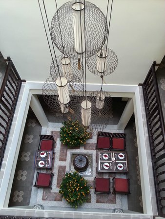 Little Hoian Boutique Hotel & Spa: Pátio interno