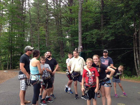 Adirondack Extreme Adventure Course: Pumped up and ready to go!!