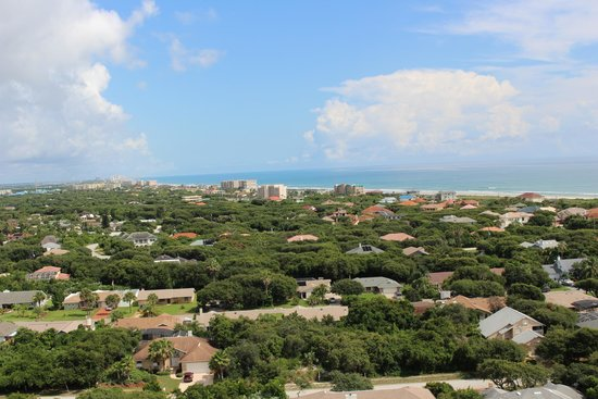 Ponce de Leon Inlet Lighthouse & Museum: Ponce Inlet Lighthouse - vue from the top!