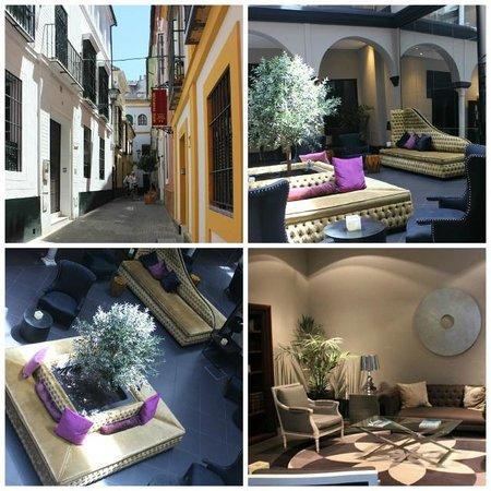 Hotel Fontecruz Sevilla: Fontecruz common spaces