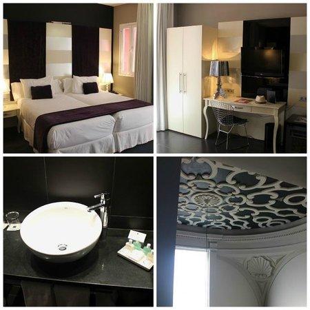 Eurostars Sevilla Boutique: Our spacious, modern suite