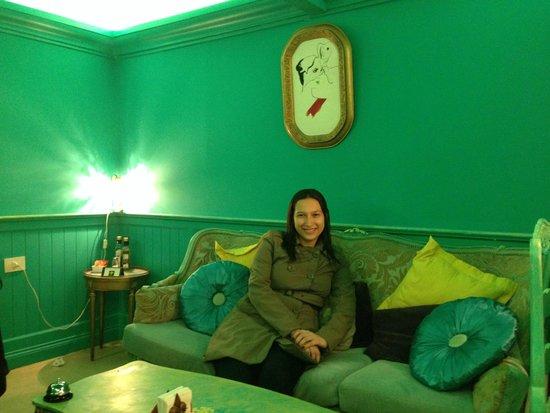 Bonjour Paris: Cantinho aconchegante do Cafe