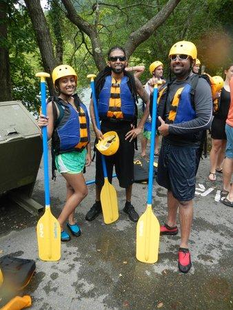 Ocoee Rafting: geared up