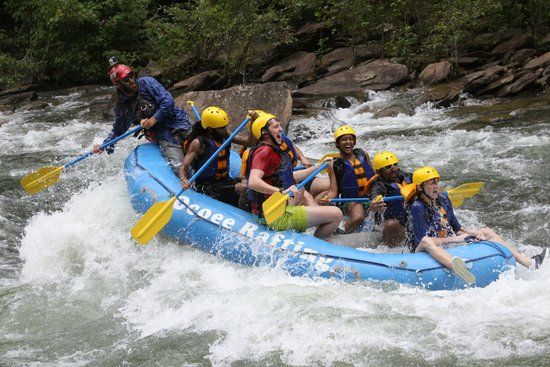 Ocoee Rafting: working it