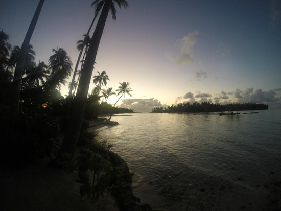Le Taha'a Island Resort & Spa : Sunset