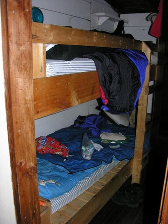"Johns Brook Lodge: Inside the ""downstream bunkroom"" (photo taken 2005)"