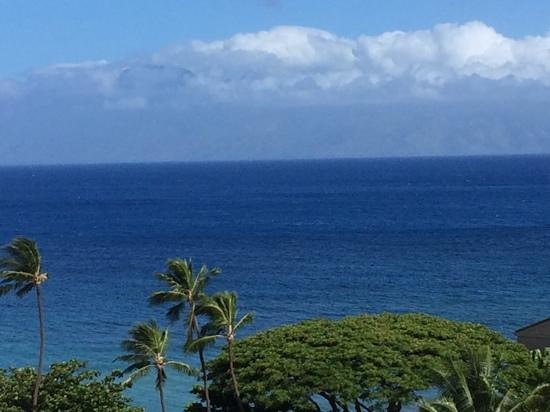 Ka'anapali Beach Club: View from our lanai