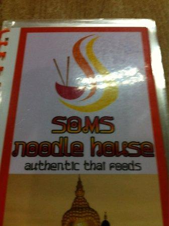 Som's Noodle House: Sunday @ Soms