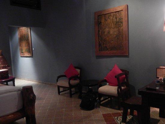 Hotel Tugu Lombok : Aloon-Aloon villa interior