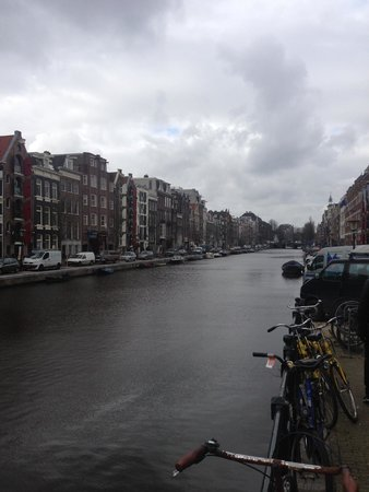 De L'Europe Amsterdam: Canal view