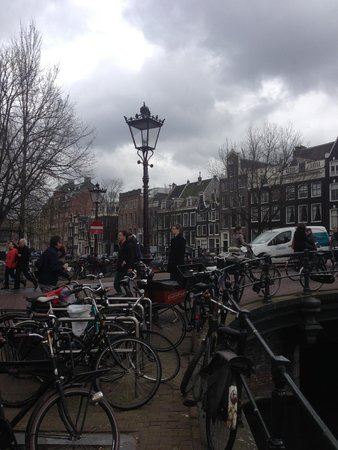 De L'Europe Amsterdam: Bikes everywhere