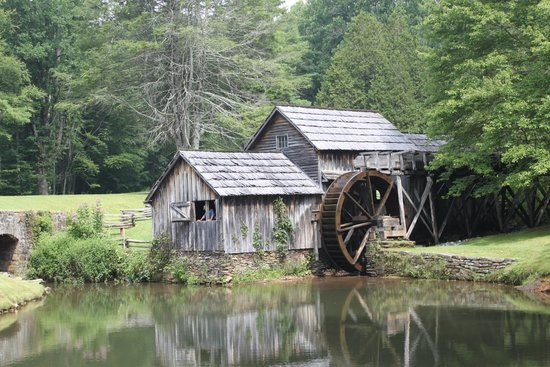 Mabry Mill from across the duck pond
