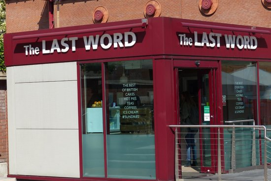 The Last Word cafe at British Library