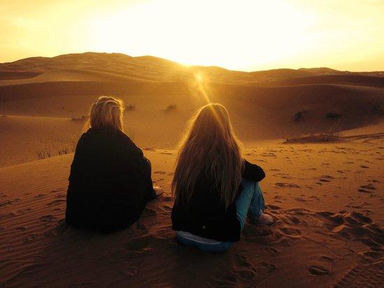 Soul Adventure 4x4 Day Tours: Sunrise in the Merzouga desert