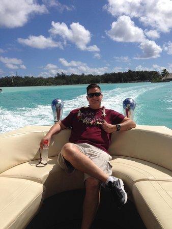 Four Seasons Resort Bora Bora: airport boat transfer