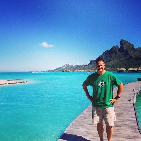 Four Seasons Resort Bora Bora: the water!