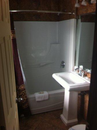 Motel Belvedere : Salle de bain