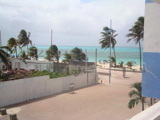 Portobelo Beach: vista da sacada do quarto