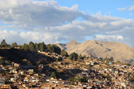 El Mercado Tunqui : Veiw from room