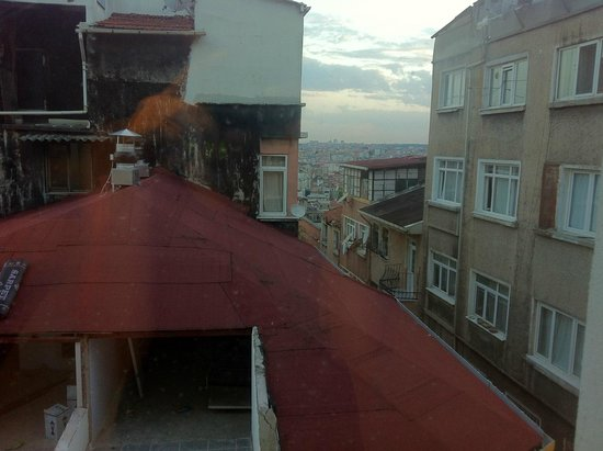 Endless Suites Taksim: View from the room