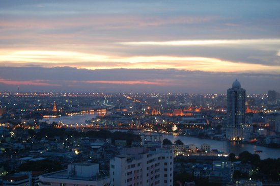 Millennium Hilton Bangkok: View from the top