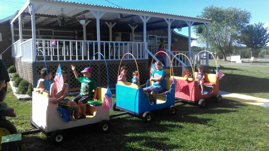 Tana-See Campground: Kids love it here