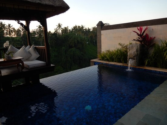 Private Heated Infinity Pool In Deluxe Terrace Villa Picture Of
