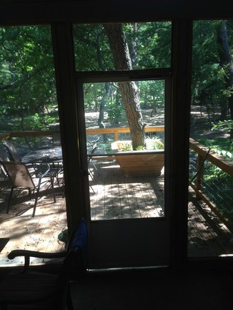 Cypress Creek Cottages : View from porch
