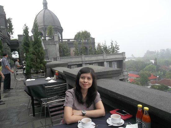 GH Universal Hotel: Breakfast at Rooftop