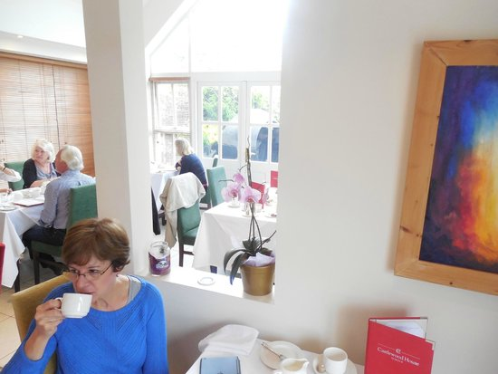 Castlewood House: Lovely breakfast room, can you tell we loved breakfast?