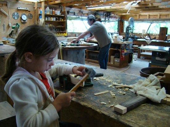 Timberlock: Woodworking
