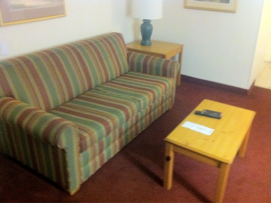 Extended Stay America - Jacksonville - Southside - St. Johns Towne Center: Worn out couch