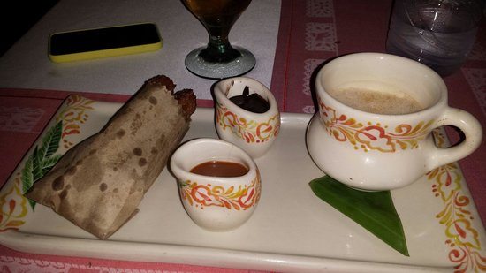 Epazote: Delicious Mexican Chocolate and Churros. Great finishing touch to a great meal.