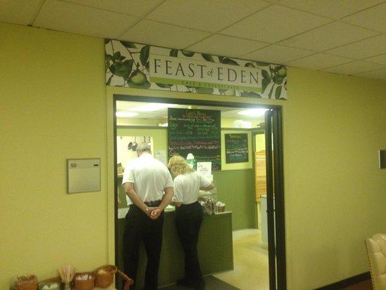 Feast of Eden : Entrance