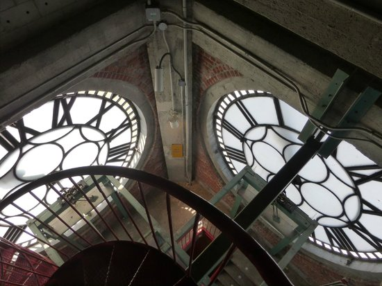 Old Montreal : Clock tower from the inside